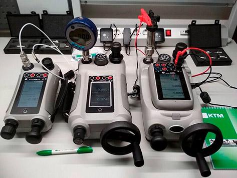 Калибраторы давления DPI611, DPI612, DPI 620G, входной контроль
