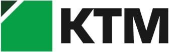 Цветной логотип компании  ООО «КТМ»