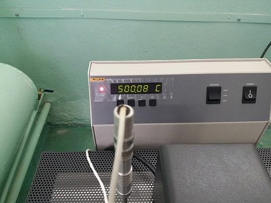 Поверочный термостат для ультравысоких температур Fluke 6050H