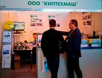 Сотрудники ООО КТМ на выставке MetrolExpo-2019