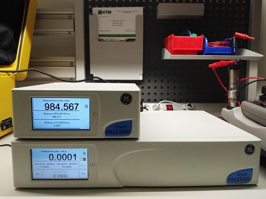 Калибраторы давления PACE 1000, PACE 5000