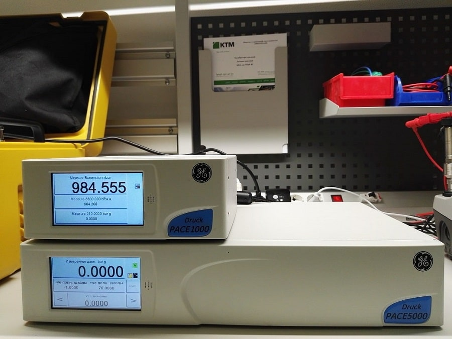 Druck Калибраторы давления PACE 1000, PACE 5000