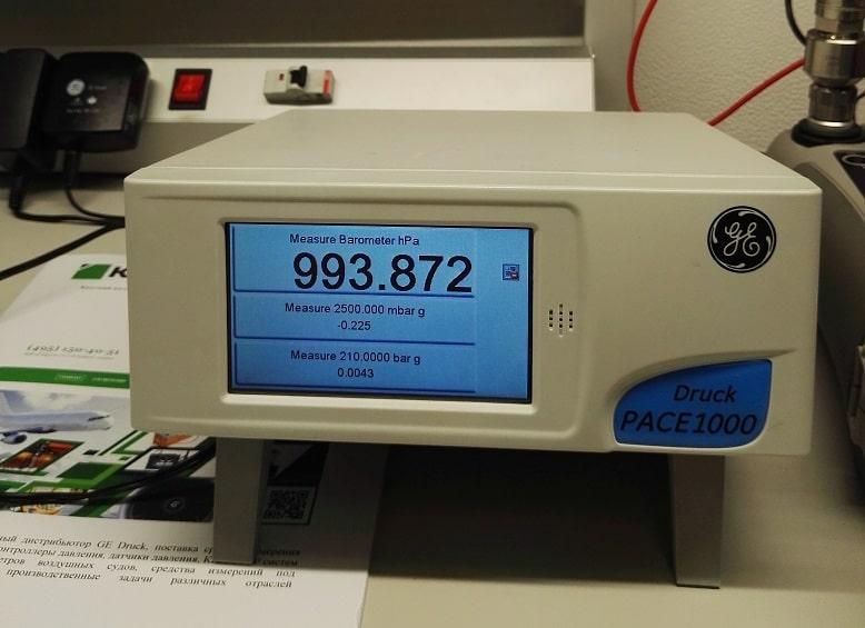PACE 1000 калибратор давления
