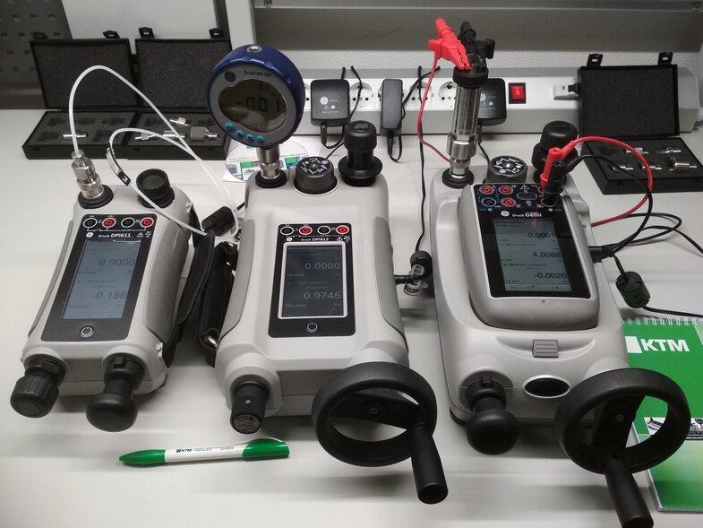Калибраторы давления DPI611, DPI612, DPI620G
