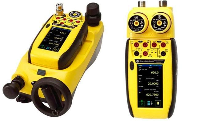DPI620-IS и станция давления PV622-IS, и DPI620-IS и держатель модулей MC620-IS, с модулями PM620-IS