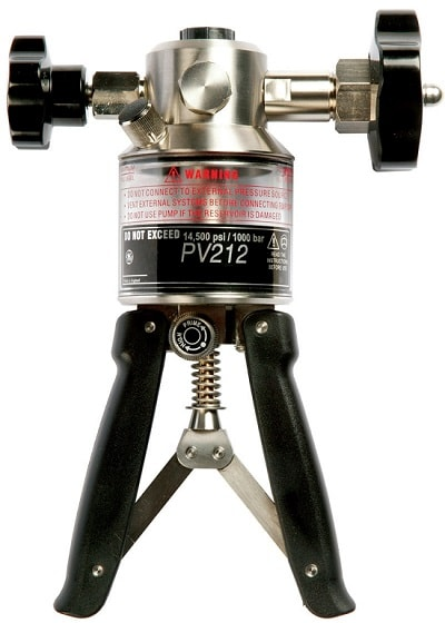 Гидравлическая ручная помпа Druck PV212