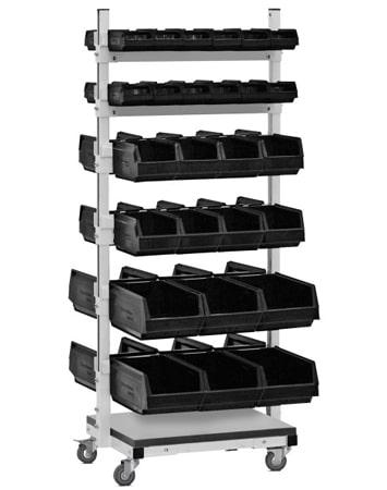 VIKING Двухсторонняя подкатная стойка для комплектующих СКМ