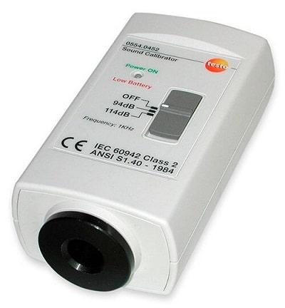 Калибратор уровня шума Testo Sound Calibrator 0554.0452