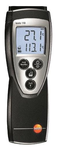 Testo 110 термометр 1-канальный для высокоточного мониторинга