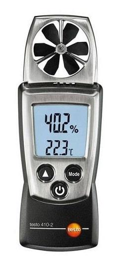 Testo 410-2 анемометр с крыльчаткой и сенсором влажности