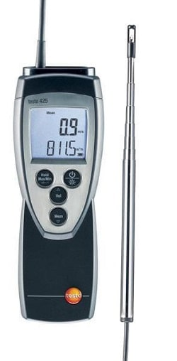 Testo 425 термоанемометр