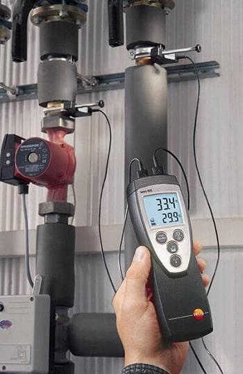 Testo 922 двухканальный термометр