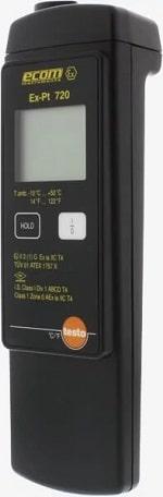 Testo-Ex-Pt 720 термометр, использование во взрывоопасных зонах