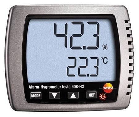 Testo 608-H2 Термогигрометр с функцией сигнализации