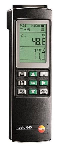 Testo 645 термогигрометр