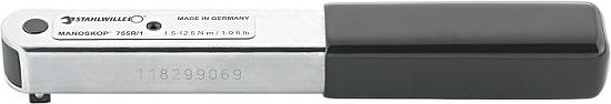 STAHLWILLE 755R/1 Моментный ключ со встроенной трещоткой