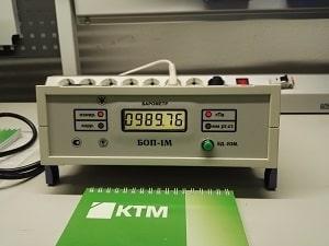 Барометр образцовый БОП-1М