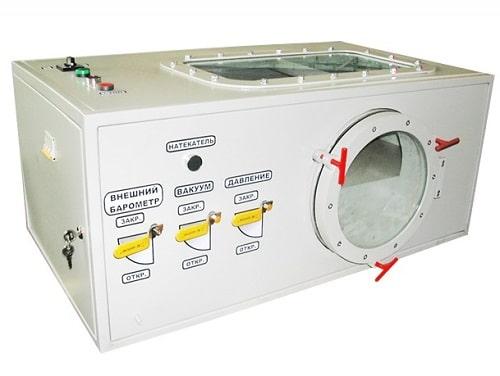 Установка барометрическая для поверки барометров