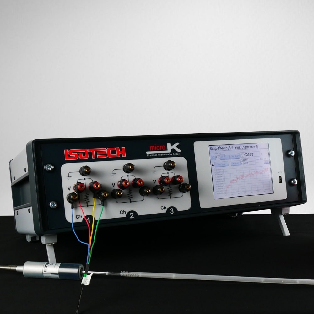 Isotech microK precision thermometry bridge