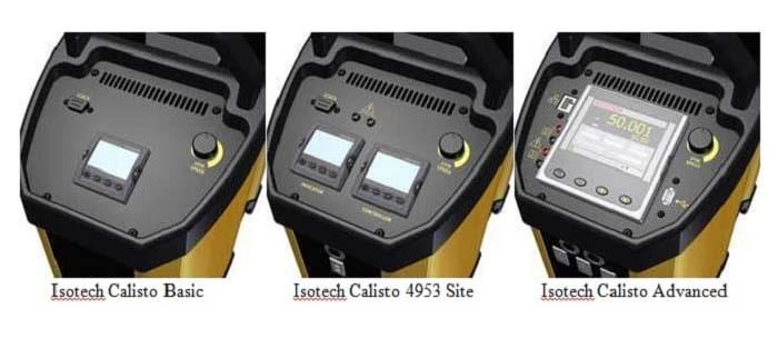 Isotech: Calisto Basic, Calisto 4953 Site, Calisto Advanced