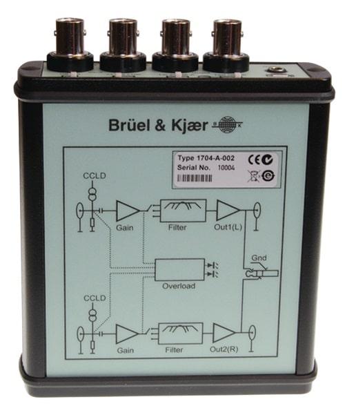 CCLD-формирователь сигнала с питанием от аккумулятора 1704-A-002 вид сбоку