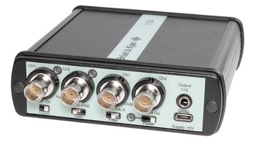 Двухканальный CCLD-формирователь сигнала 1704-C-102 внутри