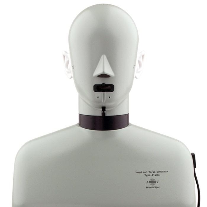 Имитатор головы и торса типа 4128 вид спереди