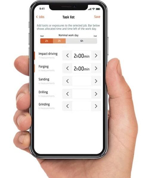 Анализатор уровня звука 2245-W мобильное приложение