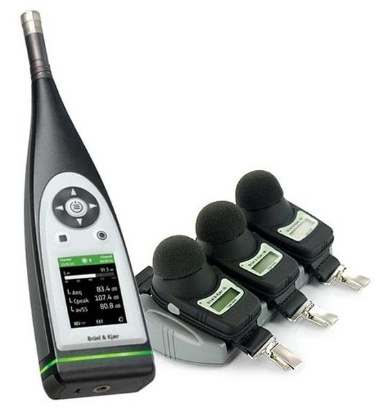 Персональный дозиметр шума типа 4448 с шумомером