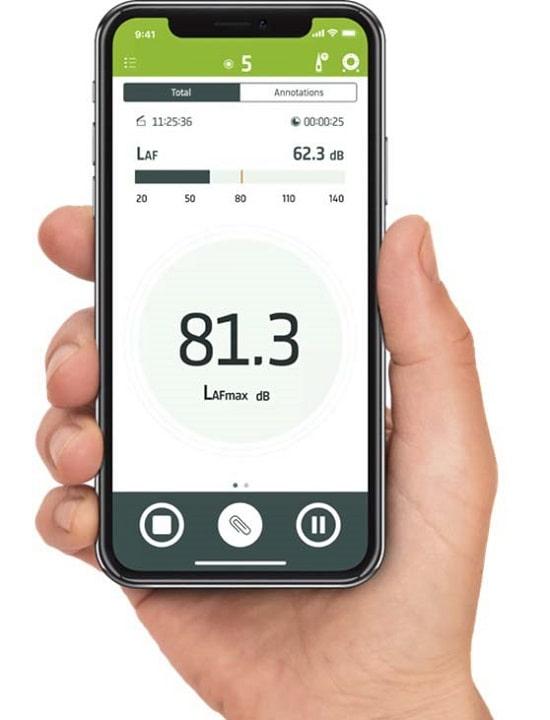 Шумомер 2245-X мобильное приложение