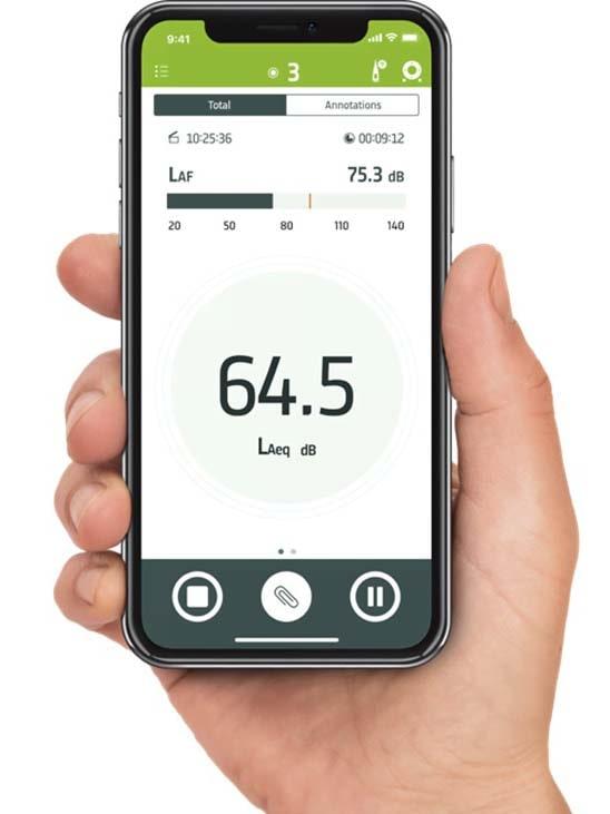 Шумомер 2245-N мобильное приложение