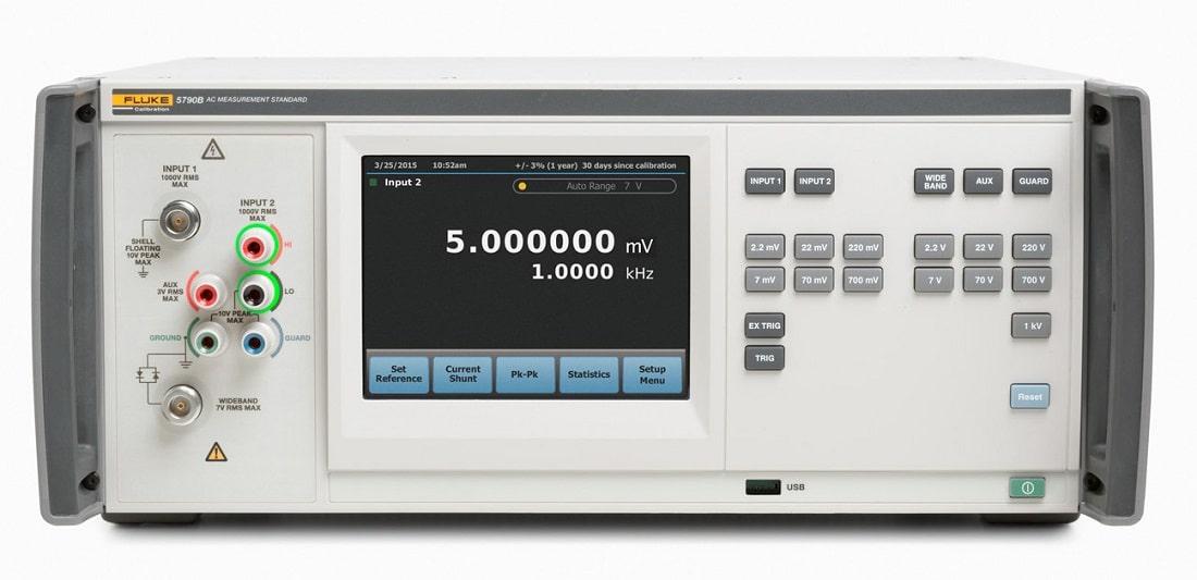 Вольтметры переменного напряжения эталонные FLUKE 5790В